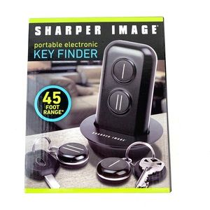 Sharper Image Portable Electronic Key Finder 45 ft